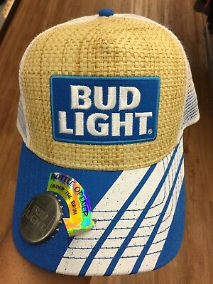 Official BUD LIGHT Bottle Opener SnapBack Hat. Brand New. One Size Fits All