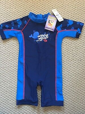 Baby boys swimmers swim suit one piece size 0 6-12 months