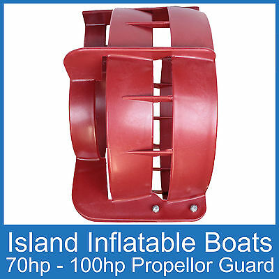 OUTBOARD PROPELLER GUARD ● Fits 70HP up to 100HP Motors ● Boat Safety Protection