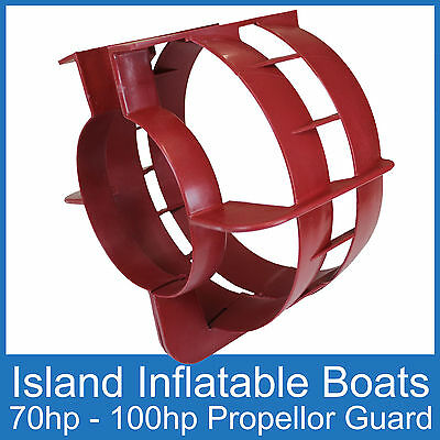 OUTBOARD PROPELLER GUARD ⊗ Fits 70HP up to 100HP Motors ⊗ Boat Safety Protection