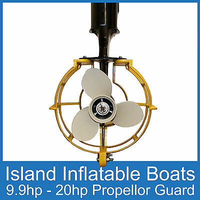 OUTBOARD PROPELLER GUARD ● Fits 9.9HP - 20HP ● Motors Boat Safety FREE POSTAGE
