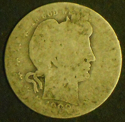 1909-P Silver Barber Quarter. Free Shipping!!!!!!!!!!!!!!