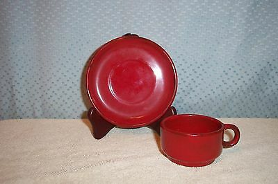 VINTAGE CUP & SAUCER from PORTUGAL / SPAIN MINT 1976