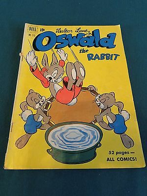 Dell Comics - Four Color - Walter Lantz - Oswald The Rabbit #315 (#1) Awesome!!!