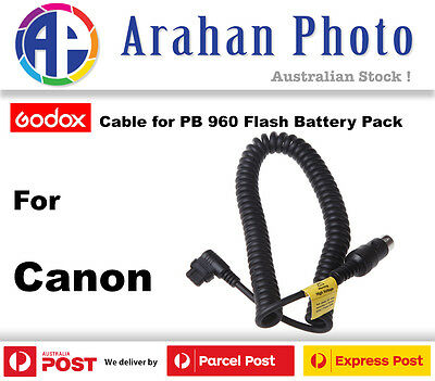 Godox Canon Flash Cable for PB 960 Battery Power Pack