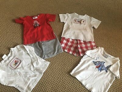Lot of Boys Boutique Brand Sets Size 4t