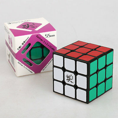 Dayan ZhanChi 3x3 Speed cube magic Puzzle Anti-POP for speed 55mm