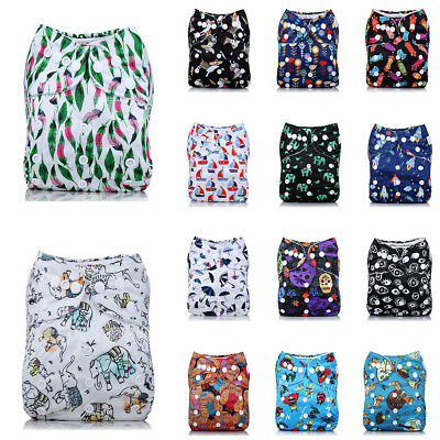 Adjustable Babys Infants Reusable Washable Cloth Diaper Kids Nappy Cover Diapers