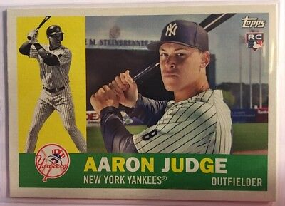 2017 Topps Archives AARON JUDGE Rookie RC #62 New York Yankees