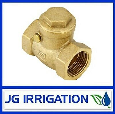 Brass Swing Check Valve - 15mm