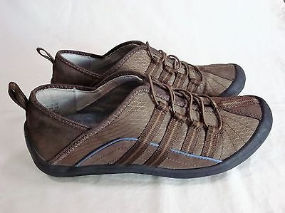 PRIVO BY CLARKS Leather Comfort Flats Tan Brown Shoes Women's Size 8 Slip On