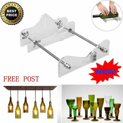 Pro Effective Glass Bottle Cutter Machine Craft Cutting Tool DIY Recycle Kit AU