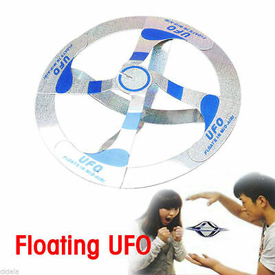 F1: Kinder Toy Cool Amazing Mystery UFO Floating Flying Disk Saucer Magic Trick