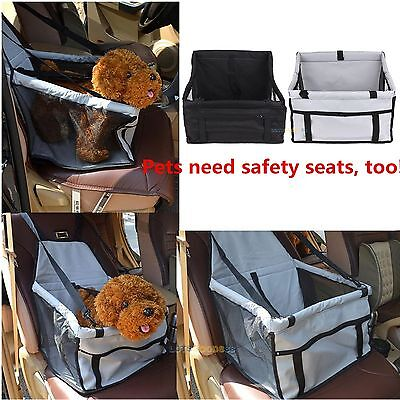Portable Dog Car Seat Belt Booster Carrier Bag for Pet Cat Puppy Travel Safety@#