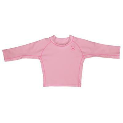 I Play Girls Swimshirt Pink UV Protection 50+ sz. 0-6, 18-24, 24.36 Months