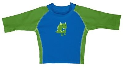 I Play Boys swimshirt Blue/Green UV Protection 50+ sz. 0-6, 24-36 Months