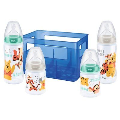 NUK 5-tlg. Flaschenset Fist Choice Plus 150-300 ml, Kunststoff, 0-6M NEU