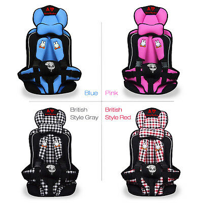 Baby Child Safety Car Seats Portable Convertible Booster Chair Infant Toddler