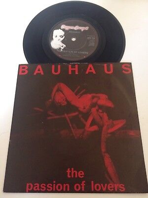 """Bauhaus - The Passion Of Lovers 7"""" 45rpm BEG59 Uk EX-/EX"""