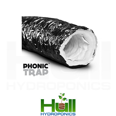 Phonic Trap Acoustic Ducting 3M 6M 10M Meters Hydroponics Ventilation Extraction