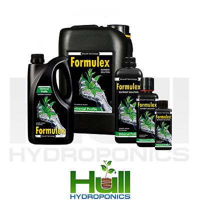 Growth Technology Formulex Nutrient Growth pH Seedling Young Plants Hydroponics