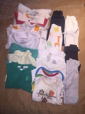 18 Items Baby Winter/spring Clothes Sz 0000 Boy Or Girl
