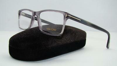 Tom Ford TF 5408 020 Grey Unisex Glasses Frames Eyeglasses Size 56