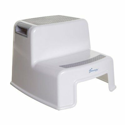 Dreambaby 2 Height Baby Toilet Step Up Stool - White - NEW