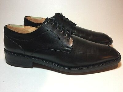 Cole Haan Collection Black Leather Oxfords Mens 9.5 M Dress Casual Shoes