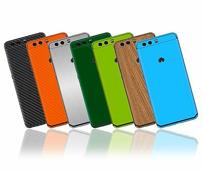 Textured Skin Sticker for HUAWEI P10 / P10 PLUS - Carbon - Wood - Matt - Gloss -