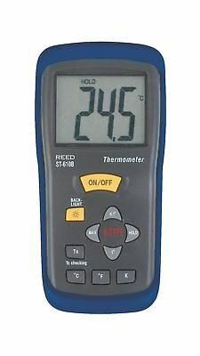 REED Instruments ST-610B Type K Thermocouple Thermometer -58 to 2000F (-50 to...