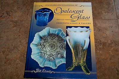 Identification/price Guide Book On Opalescent Glass