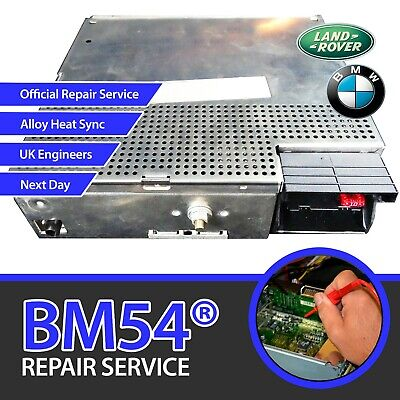 BMW Becker BM54 Radio Module Repair | 3 5 7 x5 Range Rover E53 | broken no sound