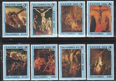 Gambia 1207-14 Easter Art Mint NH