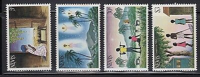 Nevis 186-89 Christmas Mint NH
