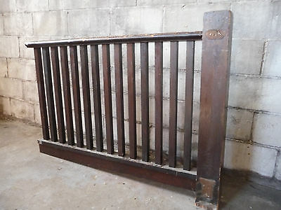 Antique Craftsman Style Railing - Circa 1915 Pine Architectural Salvage