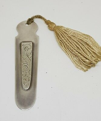 A STERLING SILVER .925 PAGE / BOOK MARK made 1990