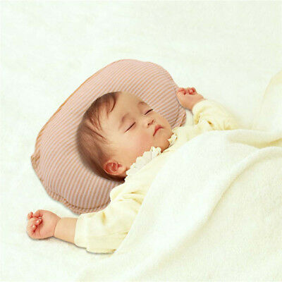 Newborn Cute Soft Bed Pillow Infant Baby Prevent Flat Head Pad Sleep Positioners