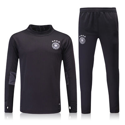 New Adult Blue Manchester United Football Soccer Sports Tracksuit Training Suit