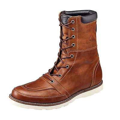 Triumph Stoke Tan Leather Motorcycle Boots MBTS17316