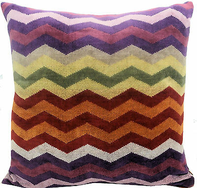 MISSONI HOME PETE 159 TERRY PILLOW COVER IN OUTDOOR 40x40 30x60cm CUSCINO SPUGNA