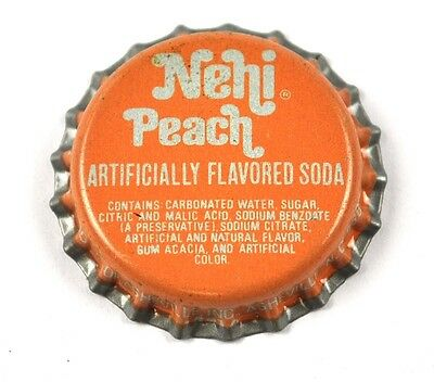 Vintage Dr. Pepper Nehi Peach Beer Soda Bier Kronkorken USA Bottle Cap