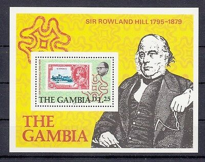 Block Rowland Hill The Gambia postfrisch