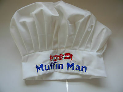 Little Debbie Muffin Man Bakers Hat / Apron & 5 Books