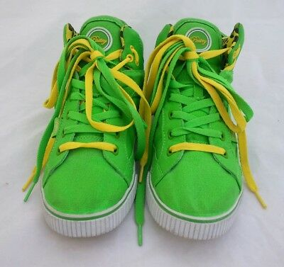 Pastry Womens Size 8 1/2 Hi Top Green Yellow Sneakers Shoes Dance Hip Hop