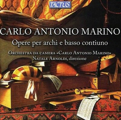 Works For Strings & Continuo - Ma (2012, CD NUOVO) Natale/Orchestra Carlo Antoni