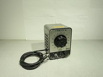 Vintage Ohmite VT8-F Variable Auto Transformer 7.5A 0-140VAC