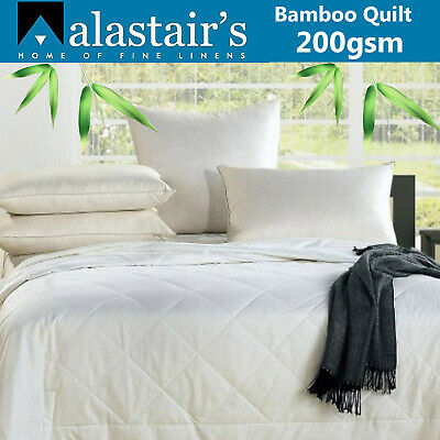 Bamboo Duvet Doona | Quilt | Eco Friendly | 200gsm | Chemical Free | Queen