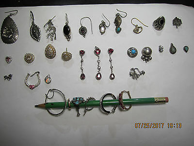 Misc Lot of 64 Grams of Scrap Sterling Silver