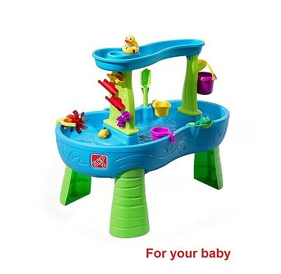 Step2 Rain Showers Splash Pond Water Table - NEW AND FREESHIPPING